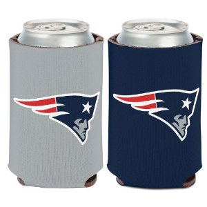 Porta Latinha Logo Team New England Patriots