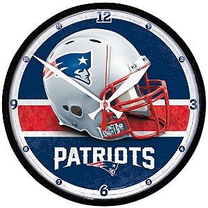 Relógio de Parede NFL New England Patriots 32cm