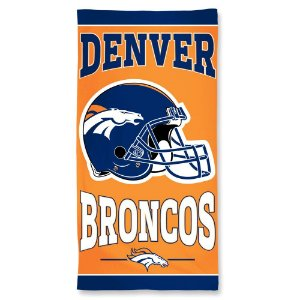 Toalha de Praia e Banho Standard Denver Broncos