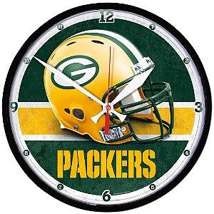 Relógio de Parede NFL Green Bay Packers 32cm