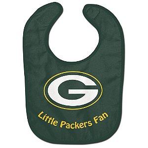 Babador Infantil Pequeno Fã Green Bay Packers
