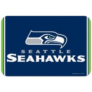 Tapete Decorativo Boas-Vindas NFL 51x76 Seattle Seahakws