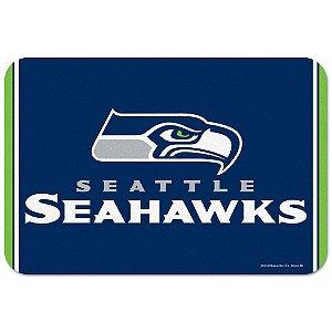 Tapete Decorativo Boas-Vindas NFL 51x76 Seattle Seahakws