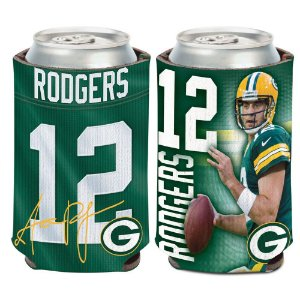 Porta Latinha Player Aaron Rodgers Green Bay Packers