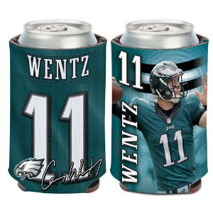 Porta Latinha Player Carson Wentz Philadelphia Eagles