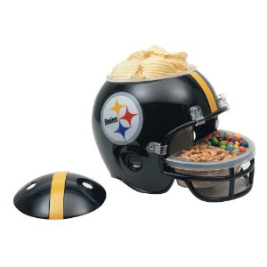 Capacete Snack Helmet Aperitivos GameDay Pittsburgh Steelers
