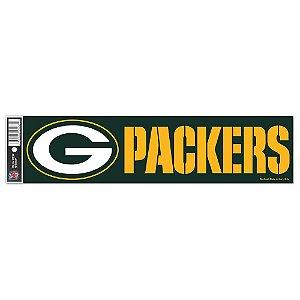 Adesivo Faixa Bumper Strip 30x7,5 Green Bay Packers