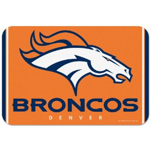 Tapete Decorativo Boas-Vindas NFL 51x76 Denver Broncos