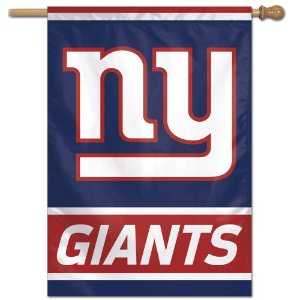 Bandeira Vertical 70x100 Logo Team New York Giants