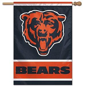 Bandeira Vertical 70x100 Logo Team Chicago Bears