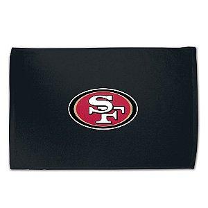 Toalha Torcedor NFL Fan 38x63cm San Francisco 49ers