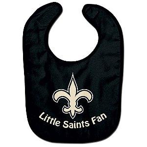Babador Infantil Pequeno Fã New Orleans Saints