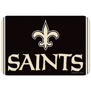 Tapete Decorativo Boas-Vindas NFL 51x76 New Orleans Saints