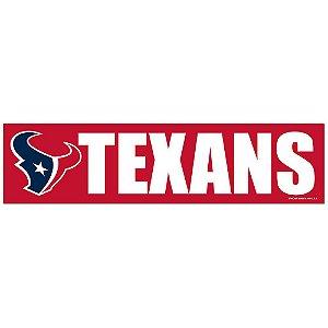 Adesivo Faixa Bumper Strip 30x7,5 Houston Texans