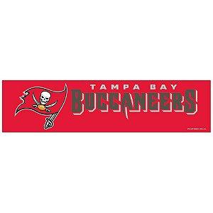 Adesivo Faixa Bumper Strip 30x7,5 Tampa Bay Buccaneers