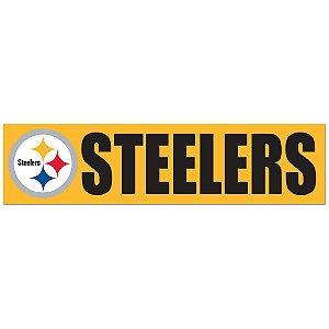 Adesivo Faixa Bumper Strip 30x7,5 Pittsburgh Steelers