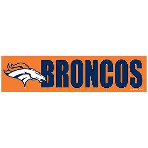 Adesivo Faixa Bumper Strip 30x7,5 Denver Broncos