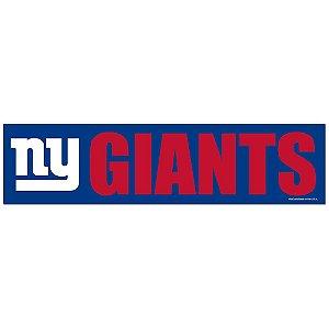 Adesivo Faixa Bumper Strip 30x7,5 New York Giants