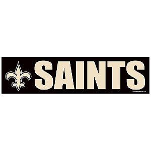 Adesivo Faixa Bumper Strip 30x7,5 New Orleans Saints