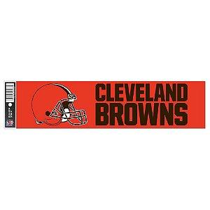 Adesivo Faixa Bumper Strip 30x7,5 Cleveland Browns