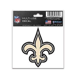 Adesivo Multi-Uso 8x10 NFL New orleans Saints
