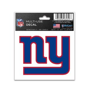 Adesivo Multi-Uso 8x10 NFL New York Giants