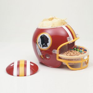 Capacete Snack Helmet Aperitivos GameDay Washington Redskins