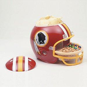 Capacete Snack Helmet Aperitivos GameDay Washington Redskins