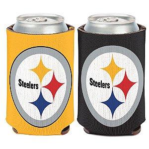 Porta Latinha Logo Team Pittsburgh Steelers