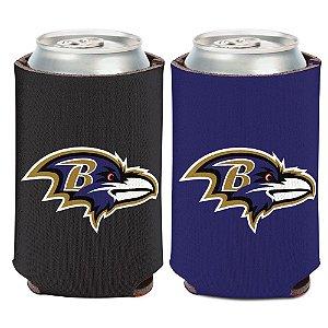 Porta Latinha Logo Team Baltimore Ravens
