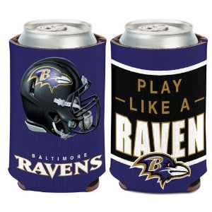Porta Latinha Slogan Team Baltimore Ravens