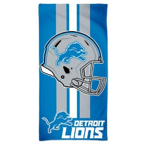 Toalha de Praia e Banho Standard Detroit Lions