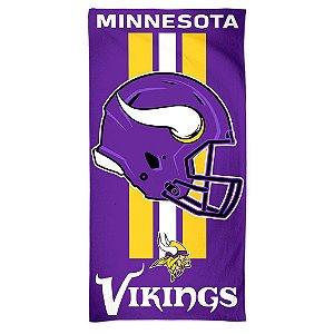 Toalha de Praia e Banho Standard Minnesota Vikings