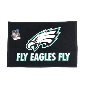 Toalha Torcedor NFL Fan 38x63cm Philadelphia Eagles