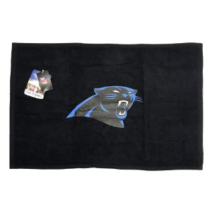 Toalha Torcedor NFL Fan 38x63cm Carolina Panthers