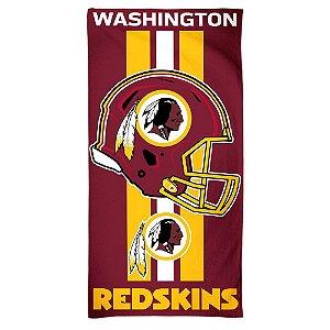 Toalha de Praia e Banho Standard Washington Redskins