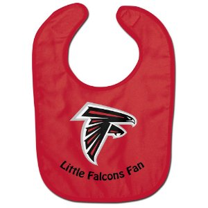 Babador Infantil Pequeno Fã Atlanta Falcons