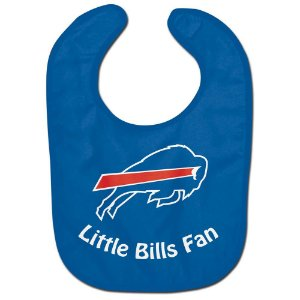 Babador Infantil Pequeno Fã Buffalo Bills
