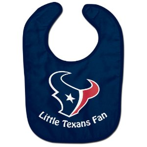 Babador Infantil Pequeno Fã Houston Texans
