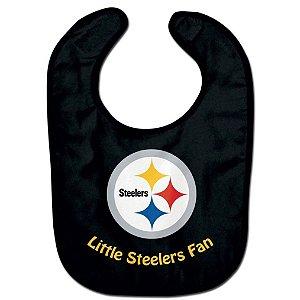 Babador Infantil Pequeno Fã Pittsburgh Steelers