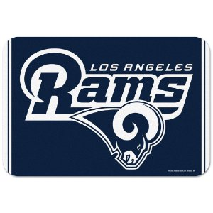 Tapete Decorativo Boas-Vindas NFL 51x76 Los Angeles Rams