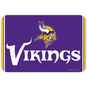 Tapete Decorativo Boas-Vindas NFL 51x76 Minnesota Vikings