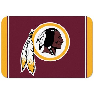 Tapete Decorativo Boas-Vindas NFL 51x76 Washington Redskins
