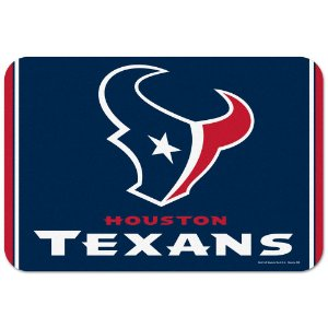 Tapete Decorativo Boas-Vindas NFL 51x76 Houston Texans