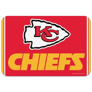 Tapete Decorativo Boas-Vindas NFL 51x76 Kansas City Chiefs