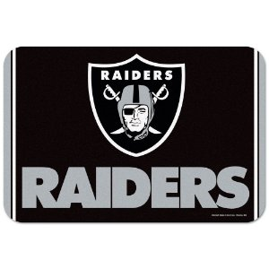 Tapete Decorativo Boas-Vindas NFL 51x76 Oakland Raiders