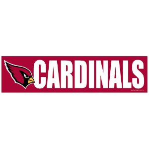 Adesivo Faixa Bumper Strip 30x7,5 Arizona Cardinals
