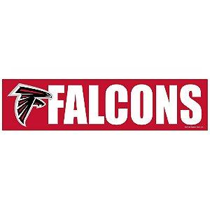 Adesivo Faixa Bumper Strip 30x7,5 Atlanta Falcons