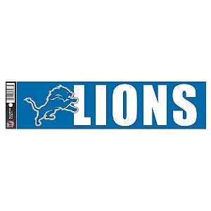 Adesivo Faixa Bumper Strip 30x7,5 Detroit Lions