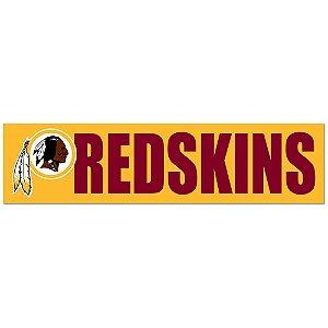Adesivo Faixa Bumper Strip 30x7,5 Washington Redskins